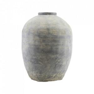 Vaza gri din lut 47 cm Rustik House Doctor
