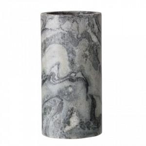 Vaza gri din marmura 15 cm Marble Bloomingville