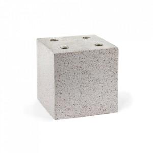 Vaza gri din terrazzo 20 cm Geometry Serax