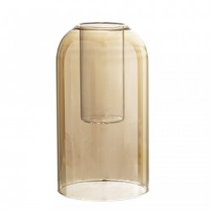 Vaza maro din sticla 12x23 cm Bloomingville