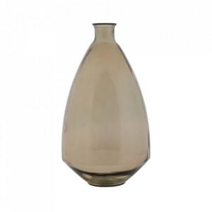 Vaza maro din sticla 60 cm Bari Mauro Ferretti