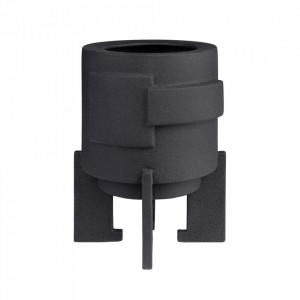 Vaza neagra din ceramica 29 cm Nyp Versmissen