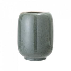 Vaza verde din ceramica 18 cm Delaney Bloomingville