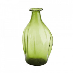 Vaza verde din sticla 18 cm Ayn Madam Stoltz
