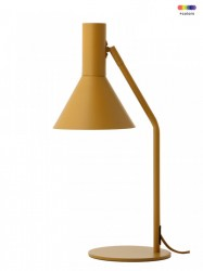 Veioza galbena din metal 50 cm Lyss Frandsen Lighting
