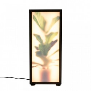 Veioza multicolora din aluminiu si sticla 51 cm Grow L Zuiver