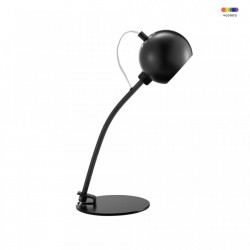 Veioza neagra din metal 45 cm Black Frandsen Lighting