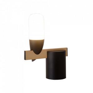 Veioza neagra din metal cu LED 23 cm Sakai Candellux