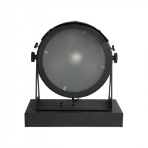 Veioza neagra din metal si sticla 31 cm Cap LABEL51