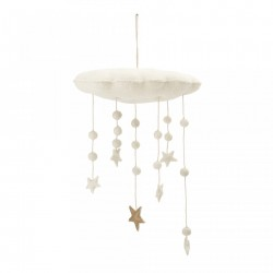 Decoratiune suspendabila din lana Stars Above Bloomingville