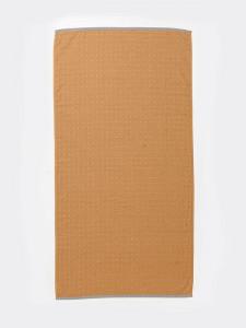 Prosop din bumbac galben mustar 70x140 cm Sento Ferm Living