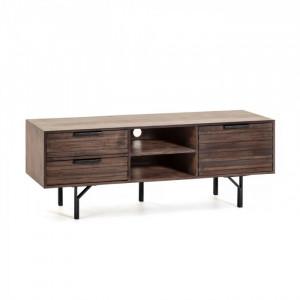 Comoda TV din lemn si metal 160 cm Atalia La Forma