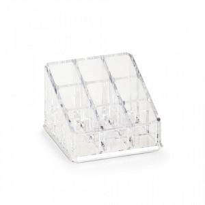 Organizator transparent din plastic Cosmetic Nine Zeller