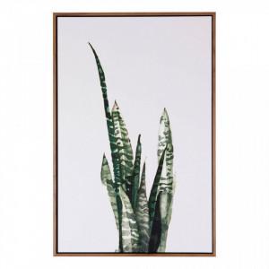 Tablou alb/verde din MDF si polistiren 40x60 cm Pita Somcasa