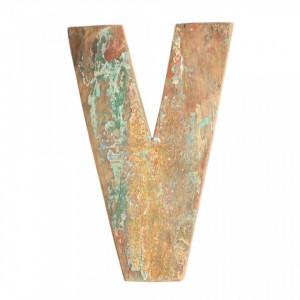 Decoratiune maro din lemn 18 cm V Raw Materials