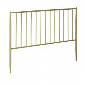 Tablie pat aurie din metal 168 cm Natacha La Forma