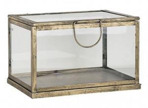 Cutie din fier si sticla pentru bijuterii Rosie Small Richmond Interiors