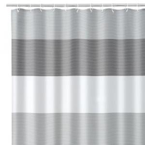 Perdea dus multicolora din poliester 180x200 cm Lines Unimasa