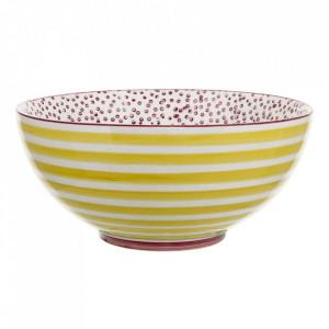 Bol multicolor din ceramica 850 ml Patrizia Bloomingville
