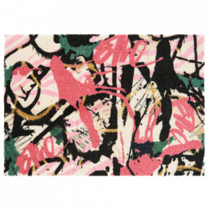 Pres dreptunghiular multicolor din poliamide pentru intrare 50x70 cm Viva Artist Elle Decor