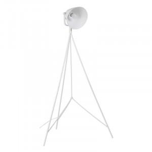 Lampadar alb din aluminiu 160 cm Ebron White Somcasa