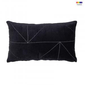 Perna decorativa dreptunghiulara din bumbac 30x50 cm Malina Obsidian LifeStyle Home Collection