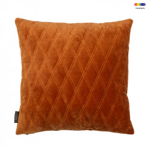 Perna decorativa patrata din bumbac 50x50 cm Dascha Leather Brown LifeStyle Home Collection