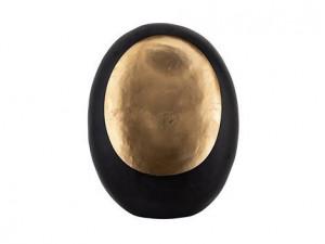 Suport negru/auriu din fier pentru lumanare 45 cm Roann Richmond Interiors