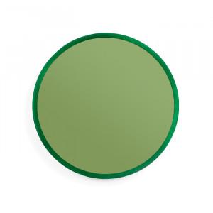 Oglinda rotunda verde din metal 61 cm You're So Ugly L Bold Monkey