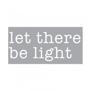 Decoratiune luminoasa alba din sticla Neon Art Let There Be Light Seletti