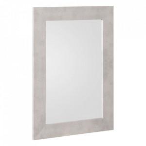 Oglinda dreptunghiulara gri din MDF 56x76 cm Spreanza Ixia