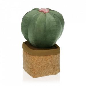 Opritor usa verde/maro din textil Cactus Versa Home