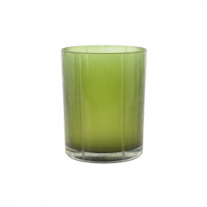 Suport verde din sticla pentru lumanare 13 cm Lark Lifestyle Home Collection