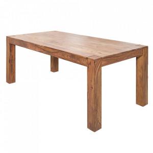 Masa dining maro din lemn de palisandru indian 100x200 cm Makassar Invicta Interior