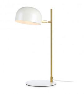 Lampa birou alba/aurie din metal 48,5 cm Pose Markslojd
