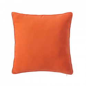 Perna decorativa patrata portocalie din poliester si bumbac 45x45 cm Loving Colours Unimasa