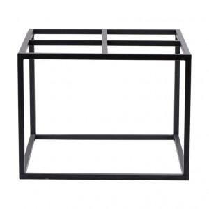 Cadru pentru masa 60x60 cm negru mat House Doctor
