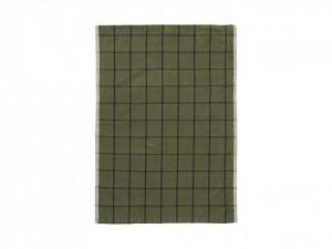 Prosop din bumbac si in verde 50x70 cm Hale Tea Green Ferm Living