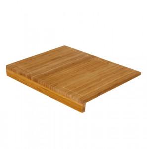 Tocator dreptunghiular maro din lemn de bambus 35x45 cm Steph Unimasa