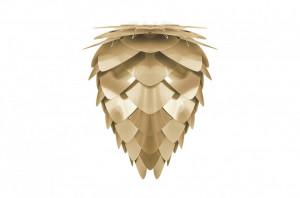 Abajur auriu din polipropilena si policarbonat Conia Brass Umage