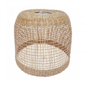 Abajur crem din fibre vegetale Peni Opjet Paris Proiectat numai pentru uz interior