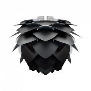 Abajur negru din polipropilena si policarbonat Silvia Mini Umage