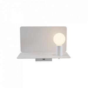 Aplica alba din metal Wall Lamp Rack White Maytoni