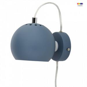 Aplica albastra din metal Magnet Matt Dust Blue Frandsen Lighting