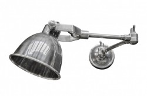 Aplica argintie din alama 13x32-51x15 cm Maxim Versmissen