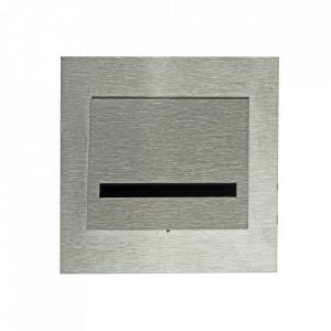 Aplica argintie din aluminiu si plastic Fero S Milagro Lighting