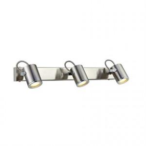 Aplica argintie din metal cu 3 becuri Lux Markslojd
