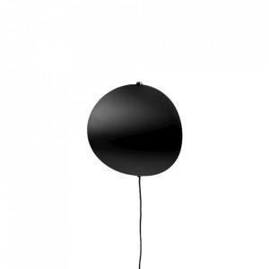 Aplica neagra din metal cu LED Callas Wall Small Bolia