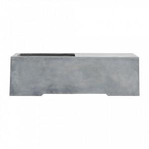 Bancheta ciment cu spatiu depozitare 130 cm Grow House Doctor