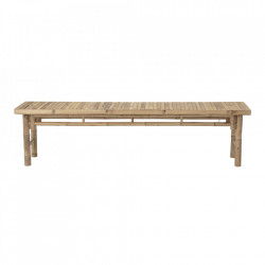 Bancheta maro din bambus pentru exterior 180 cm Sole Bloomingville